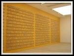4 Public Notice 2, Jitish Kallat, 2007, 4479 fibreglass sculptures, Dimensions variable